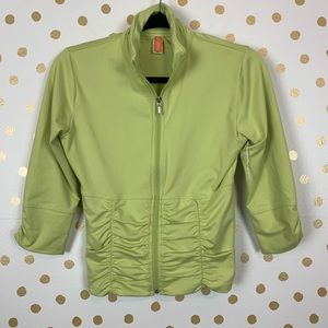 Lucy Ruched Athletic Jacket